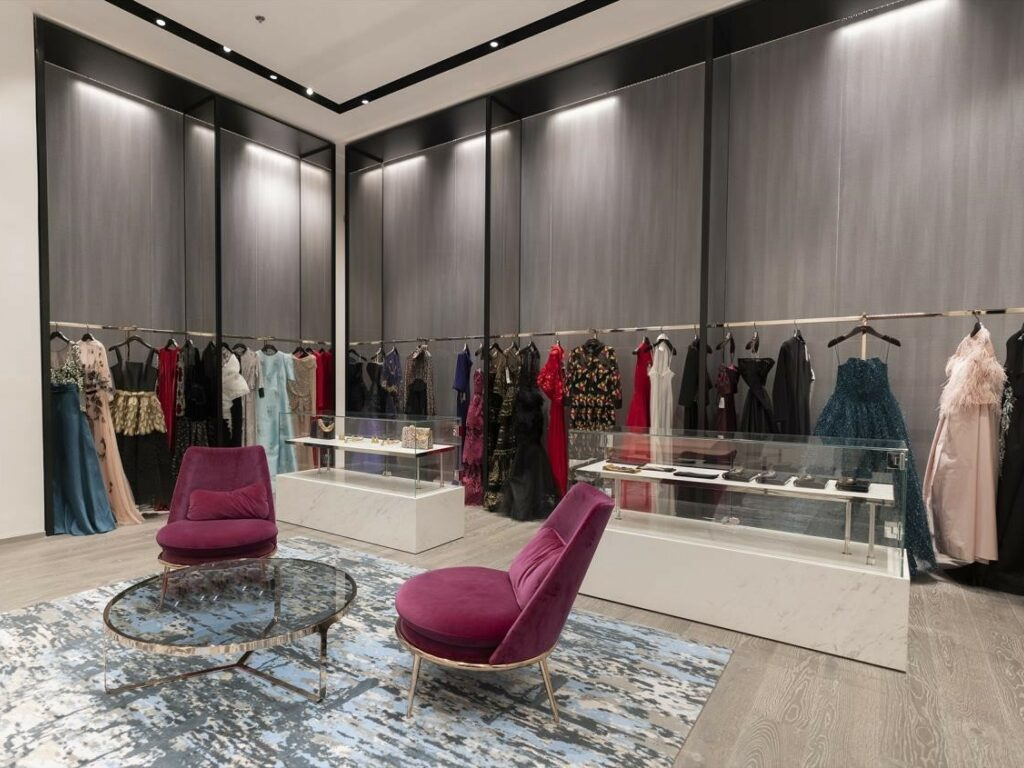 Inside the Avanti Boutique at Mall of Dhahran