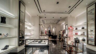 Alexander Mcqueen boutique in Centria Mall Riyadh interior 2