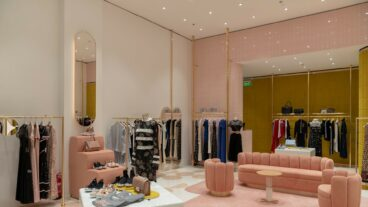 Inside the Red Valentino Store in Al Nakheel Mall